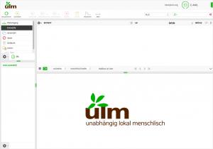 Ulm-Org Webmailer